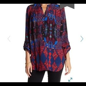 ANTHROPOLOGIE Plenty By Tracy Reese Confetti Top
